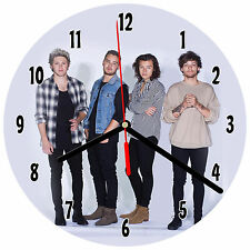 "8"" WALL CLOCK - ONE DIRECTION #SN1 - Kitchen Office Bathroom Bar Bedroom"