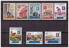 S19407) San Marino 1959 MNH Sicile - Stamps On Stamps 8v