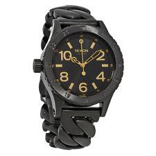 Nixon 38-20 Black Dial Ladies Stainless Steel Watch A410-2317-00