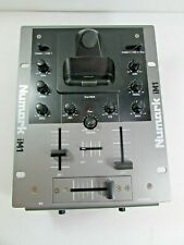 Numark iM1 2-Channel DJ Mixer with Ipod Dock Clean**UNTESTED PARTS ONLY AS IS**
