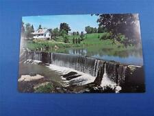 OTTERVILLE ONTARIO POSTCARD CANADA WATER POWER DAM OTTER CREEK