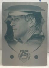 Cal Ripken Jr. 2014 Panini COOPERSTOWN Hall of Fame Base Printing Plate #'d 1/1