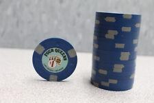20 Paulson Chips - Four Queens Las Vegas, Nevada, $1 Casino Poker Chips - NEW