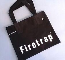 FIRETRAP BLACK BAG HANDBAG TOTE SHOPPER SMALL / MEDIUM WOMANS DESIGNER * NEW *