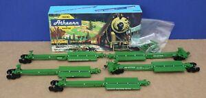Athearn 5551 HO Impack Ends & Inters 5 car Kit BN Burlington Built Boxed Kadees