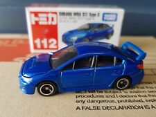Tomica - #112 - Subaru WRX STi - factory sealed and unopened box