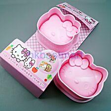 Hello Kitty Cathy 2x Sushi Rice Ball Maker Molds Japanese Bento Gadgets K07