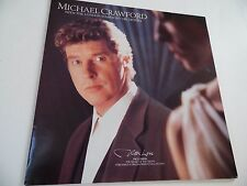 "MICHAEL CRAWFORD . WITH LOVE . 12"" 33rpm LP Record . 1989 . Easy listening .Voca"