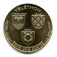 93 BONDY Téléthon, 2016, Monnaie de Paris