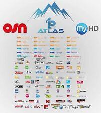 ******ABONNEMENT ATLAS IPTV + 2500 Channels 12Mois MU3/URL/VLC/MAG******