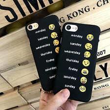 Couple Coque Housse Etui Motifs Rigide Matte Slim Case Cover Pour iphone 6 6S 7
