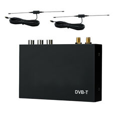 Car Digital DVB-T Freeview HDMI USB TV Tuner Receiver with Dual Aerial Antenna