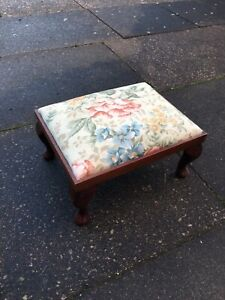 Small Wooden Footstool