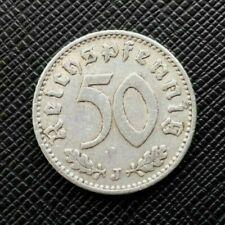Allemagne 50 Reichspfennig 1935 J Alu   [993]