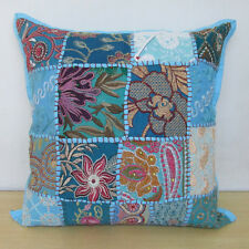 """Indian Bohemian Patches Embroidered Cushion Cover Pillow Throw Pillow Decor 16"""""""