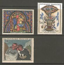 TIMBRES 1492-1494 NEUF XX - OEUVRES D' ART - TABLEAUX, TAPISSERIES  ET VITRAUX