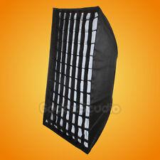 "Godox 32""x 47"" 80x120cm Honeycomb Grid Softbox w/ Bowens Mount for Strobe Flash"