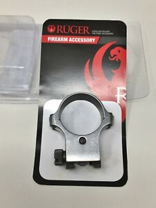 Ruger 6K30 SINGLE Steel Ring X-HIGH / 30mm, Stainless Steel 90287