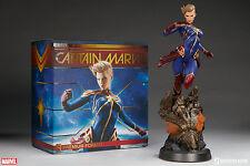 Sideshow Collectibles Marvel Captain Marvel Premium Format Figure New
