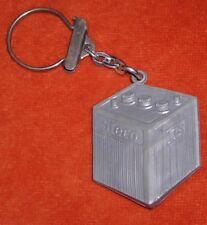 Porte-clés Keychain Batterie Automobile STECO (en plastoc gris ) recto = verso