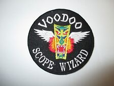 b4907 US Air Force Vietnam F101 Voodoo Scope Wizard Patch IR21C