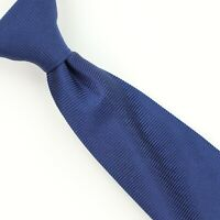 Turnbull & Asser 100% Silk Neck Tie Blue Made in England