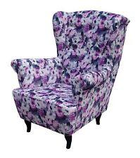 ohrensessel mit blumenmuster g nstig kaufen ebay. Black Bedroom Furniture Sets. Home Design Ideas