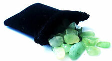 SHARING STONES - 2oz (60-70) AVENTURINE XS Tumbled Crystals with Pouch & Card