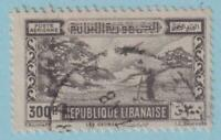 LEBANON C100 AIRMAIL  USED - NO FAULTS VERY FINE!