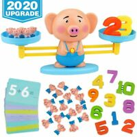 Balance Cool Math Game for Toddlers Ages 3-5, Piggy Educational Counting Toys ST
