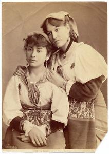 Roma Frosinone Costumi Ciociare Quale la più bella? Foto originale 1890c S1205