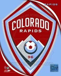 "Colorado Rapids MLS Team Logo Composite Photo (Size: 8"" x 10"")"