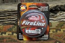Berkley Fireline 6lb 125yd Fishing Line String Smoke