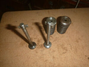 LISTER D TYPE PETROL STATIONARY ENGINE VALVES SPRINGS COLLETS