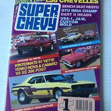 Super Chevy Magazine Yenko Nova & Camaro May 1989 071717nonrh