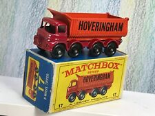 Matchbox Lesney # 17d Foden Hoveringham Tipper Very Near Mint 8BPW in VG box
