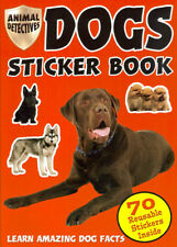 Animal Detectives Dogs K9 New STICKER BOOK - BRAND NEW over 70 Reusable Stickers