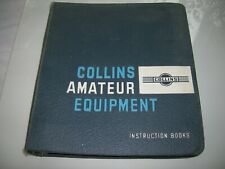 Oem Large Collins Radio Company 3 Ring Binder with manuals !