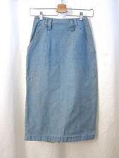 """Calvin Klein High Waist Pencil Denim Skirt Women's Bottom Size 4 Small 25"""" Waist"""