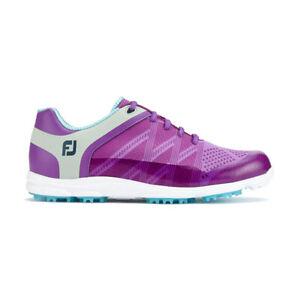 Footjoy Womens Sport SL Golf Shoes - Purple - Previous Season Style