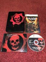 Gears of War Limited Collectors Edition Microsoft Xbox 360-NO BONUS DISC-TESTED!