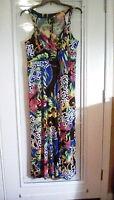 NEW Directions Woman Plus Sz 3X Jewel Maxi Dress