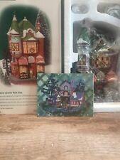 Dept Department 56 Christmas in the City Jenny's Corner Book Shop #58912 New Nib