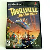 Thrillville Off the Rails - Playstation 2  PS2 Video Game