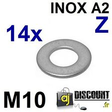 10x carrosserie DISQUES//RONDELLES m10.5x40 Acier Inoxydable Norme a2 L 9022