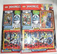 LEGO Ninjago Serie 5 Trading Card Game - 2 x Multipack 2 mit LE22 + LE23 - Neu