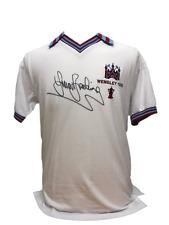 SIR TREVOR BROOKING SIGNED WEST HAM UNITED 1980 FA CUP FINAL SHIRT & PROOF COA