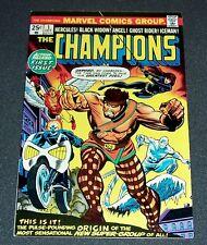 1974 CHAMPIONS # 1-vfnm 9.0 Hercules! Black Widow! Angel! Ghost Rider! Iceman!