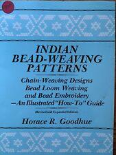 Indian Bead-Weaving Patterns: Chain-Weaving Designs Bead Loom Weaving Embroidery