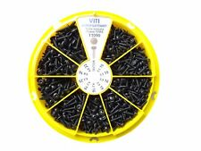 Sortiment Torx Blechschrauben Blech Schrauben schwarz verzinkt 670 tlg